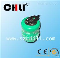 厂家专业生产3.6v80mah镍氢电池 组合充电