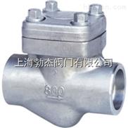 H61H 型 800(Lb) 承插焊锻钢止回阀