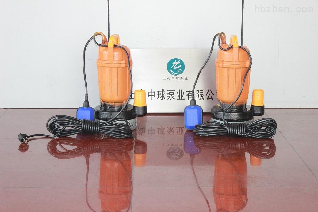 wqd 单相潜水排污泵