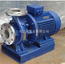 ISWH型臥式不鏽鋼管道泵