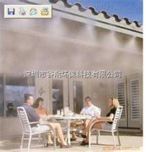 户外商业街餐厅喷雾降温系统设备