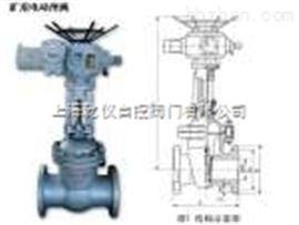 Z9B41H-40C矿用电动闸阀 Z9B41H-16C矿用防爆电动闸阀