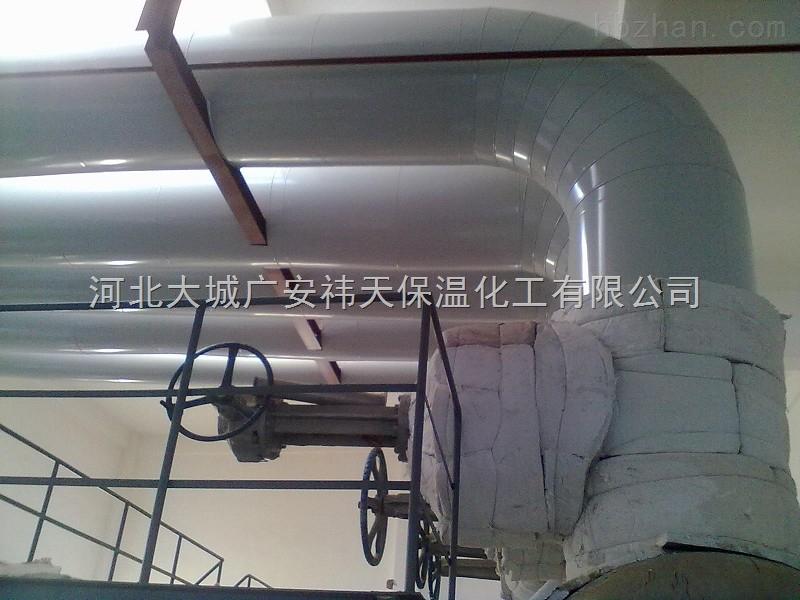 潍坊铁皮保温施工队/镀锌铁皮管道保温安装