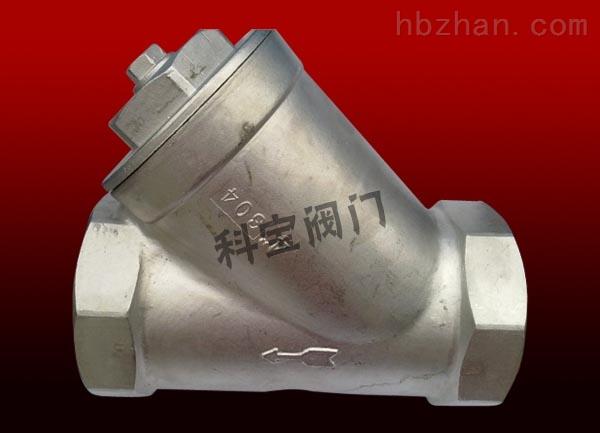 DN100-4寸不锈钢内螺纹过滤器