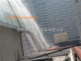 玻璃屋顶冷雾降温工程