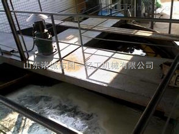 污水处理设备 刮渣机 气浮刮渣机    气浮刮渣机 查看大图 发布时间
