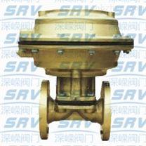 EG641F(無襯裏)、EG641Fs(MS)(襯氟塑料)氣動隔膜閥(往複式無手操型)