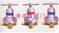 MHC-I切割氧減壓閥 上海減壓閥門廠