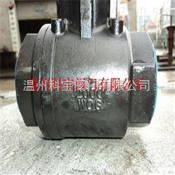 Q11F-2000WOG 1/2寸 高压丝扣两片式球阀
