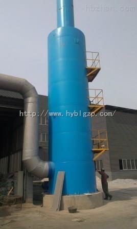 砖厂脱硫塔,砖厂4吨锅炉烟气除尘脱硫塔