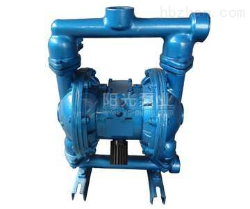 qbk气动隔膜泵选型-上海阳光泵业制造有限公司