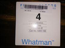 WHATMAN沃特曼Grade 4定性滤纸快速1004-150