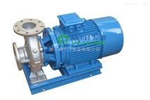 ISWH卧式防爆管道泵,不锈钢高温管道离心泵,园林灌溉,消防增压