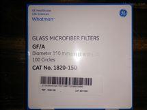 GE WHATMAN沃特曼GF/A玻璃纤维滤纸1820-150