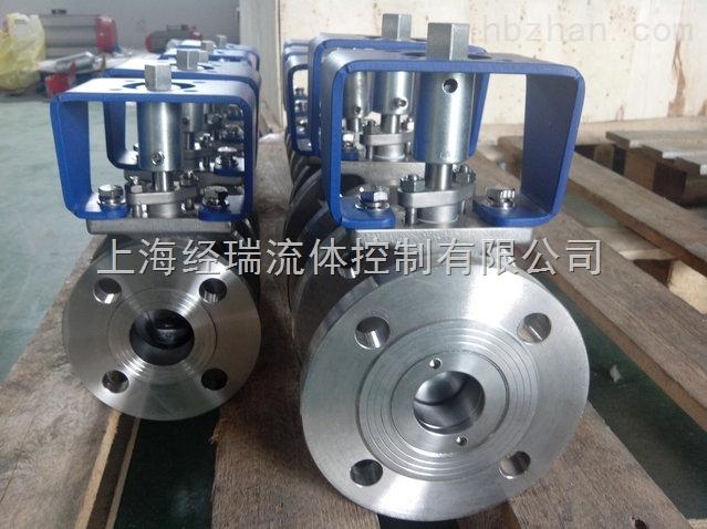 上海v型对夹式电动球阀生产厂家图片