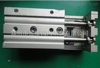 精密滑台气缸/MXS12-10/20/30/40/50/75AS/BS双缸轴承