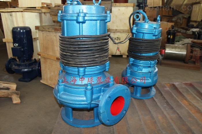 潜水无堵塞排污泵