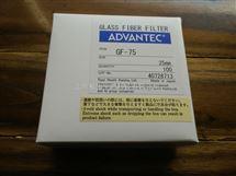ADVANTEC东洋GF-75玻璃纤维滤纸25mm直径(0.3um孔径)