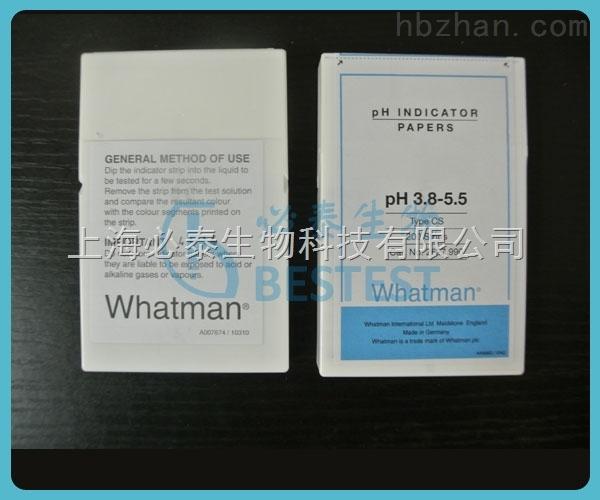 whatman/沃特曼 CS型条状PH试纸 PH3.8-5.5