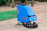 大型拓威克洗地机 半自动单刷拖地机手推式大理石晶面机