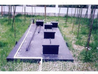 泰兴牌旅游景区生活污水处理设备