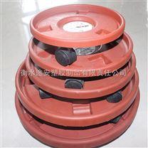 江苏直销带万向轮的槽型花盆轮托
