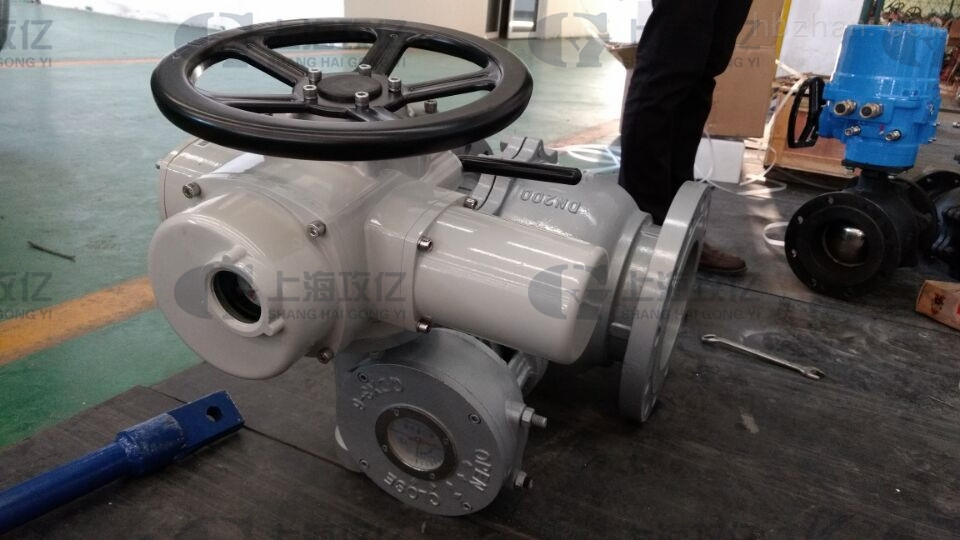 dzw15整体防爆型阀门电动执行器