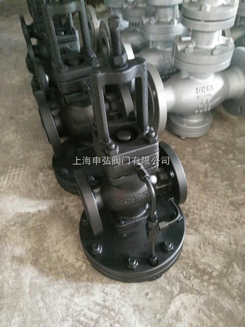 先导式超大膜片高灵敏度减压阀