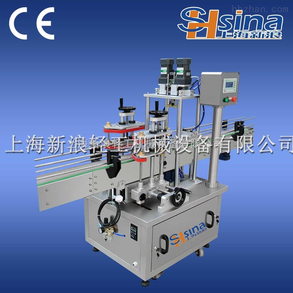 生產線果汁飲料旋蓋機