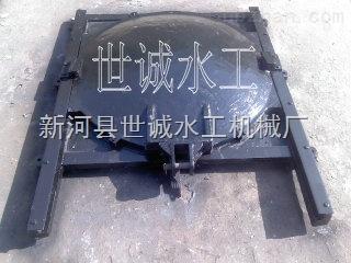 管道排水铸铁镶铜弧形闸门