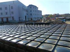 辽宁阜新海城地埋式箱泵一体化消防泵站