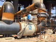 Q347F燃气管线法兰球阀