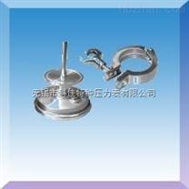 卡箍卫生型双金属温度计WSS-3/4/5/MK