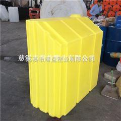 供应聚乙烯材质500升方形加药箱
