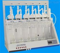 中西(LQS)智能一体化蒸馏仪 型号:YY16-SEHB-2000库号:M182659
