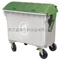 厂家直销 武汉施帝威推车式塑料垃圾桶 善洁销售各种清洁设备及售后服务维修