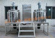 SH-SM-上海新浪可傾真空均質乳化機胡蘿卜果醬真空乳化攪拌鍋