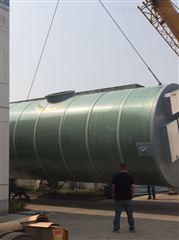 地埋式预制一体化污水提升泵站