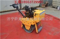 宁夏一个钢轮就能工作的手扶单轮压路机