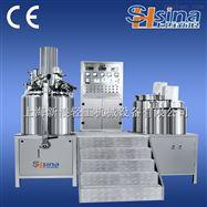 SHSINA新浪厂家供应,500L真空均质乳化机,化妆品膏霜高剪切分散乳化锅