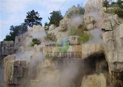 银川公园喷雾造景设备价格/景区水雾景观人造雾系统/风景区人造烟雾自动喷雾机