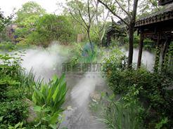 莱芜旅游景点人行通道人工冷雾设备厂家/户外景区人造雾系统直销