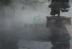 广西人工造雾专业生产厂家/旅游景点专用人工造雾系统/园林人工造雾公司项目