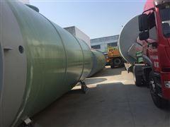 金泽一体化污水提升泵站20000立方