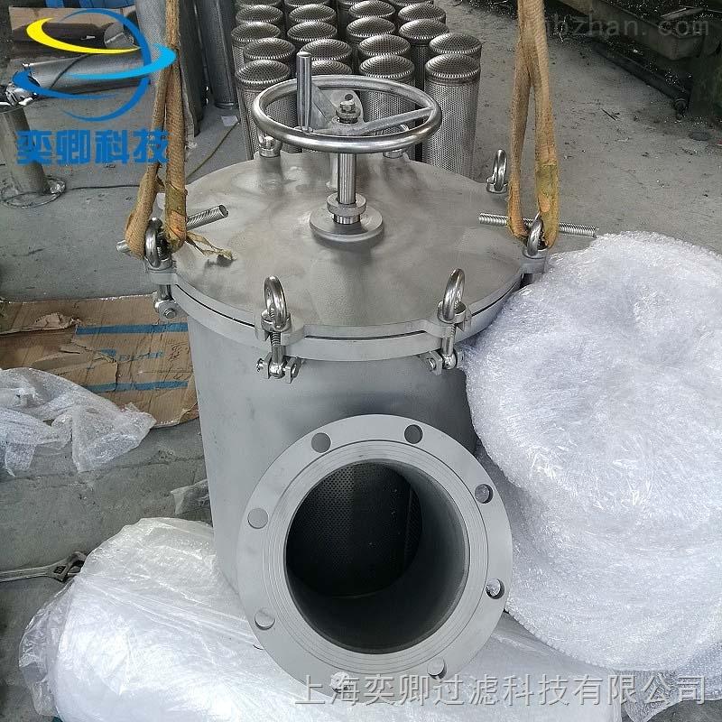 YQSY-SS型不�袗�自清洗過濾器