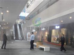 辽宁商业中心喷雾降温设备价格/户外场所喷雾降温系统工程安装