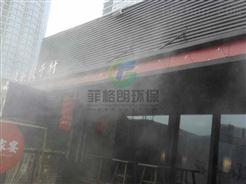 中山商业中心喷雾降温设备价格/户外场所喷雾降温系统工程安装