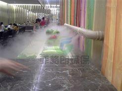 深圳农贸批发市场蔬果高压微雾加湿设备价格