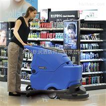 廠家直供鄭州容恩R50手推式洗地機洗地機價格