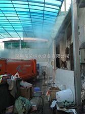 垃圾卸料大厅喷雾除臭设备